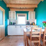 Domek - salon/kuchnia