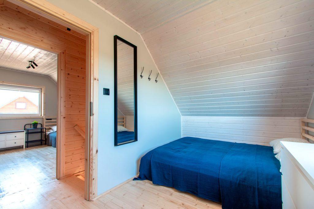 Domek - poddasze/sypialnia
