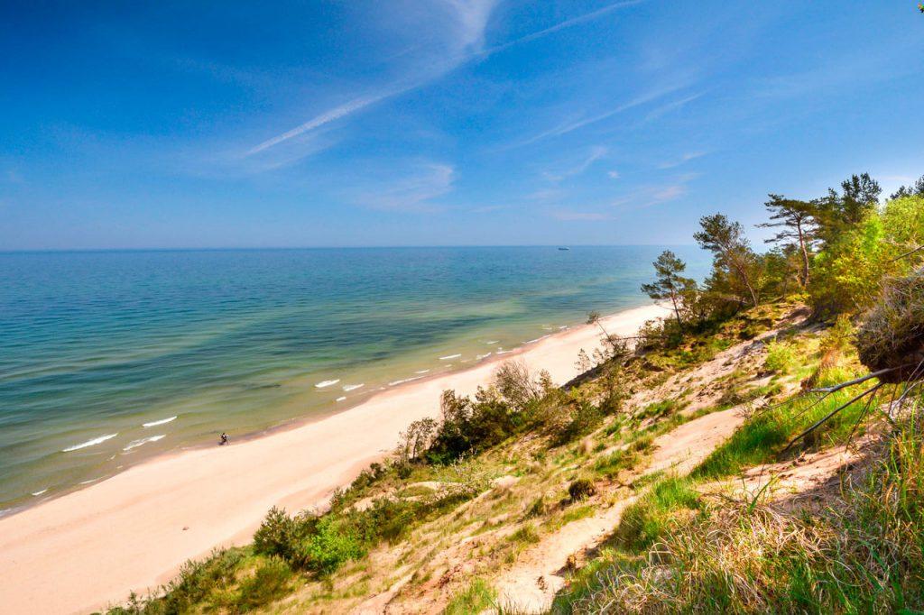 Chłapowo - plaża